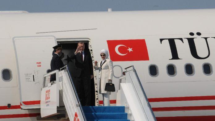 Erdoğan Hırvatistan'a gitti