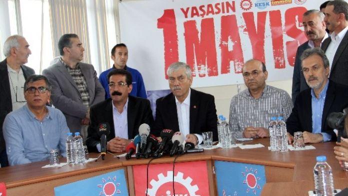 Sendikalar 1 Mayıs'ta Bakırköy'de