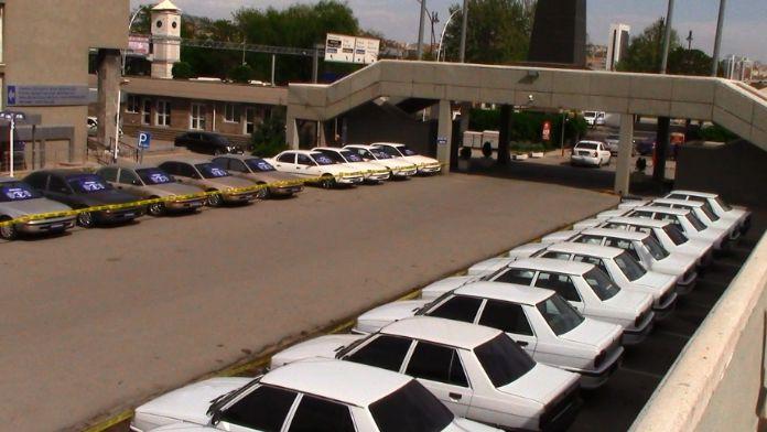 Ankara merkezli operasyon: 50 çalıntı araç ele geçirildi