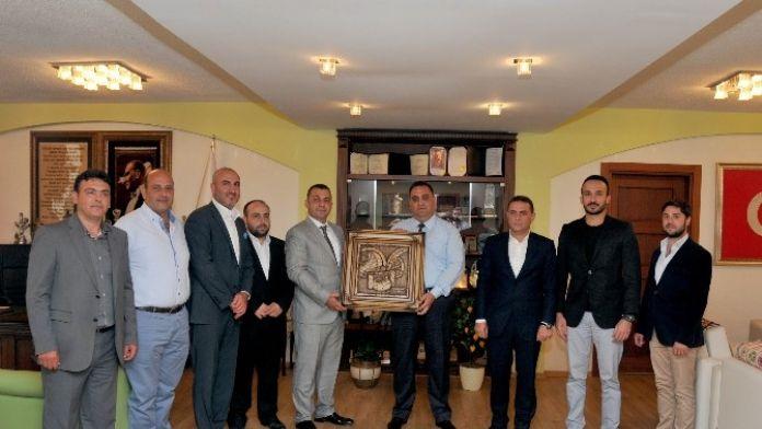 Başkan Can'a ASKON'dan Ziyaret