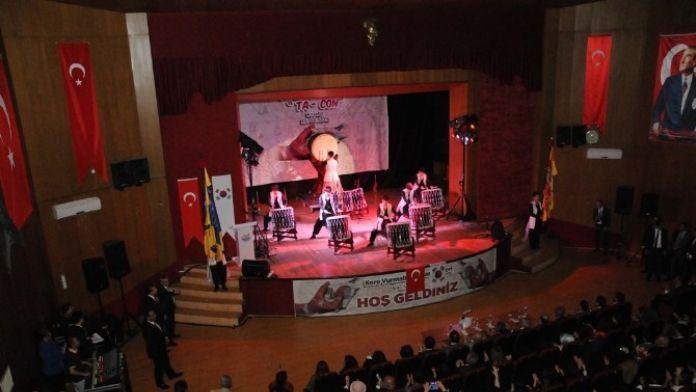 Güney Koreli Jinmyung Kırşehir'de Konser Verdi
