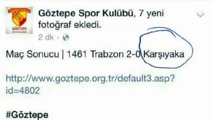 Göztepe Karşıyaka'yı da yaktı