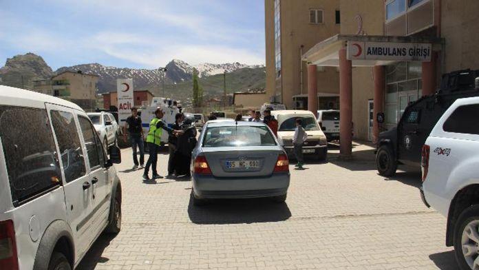 Zırhlı Araç Devrildi; 2 polis 2 sivil Yaralı