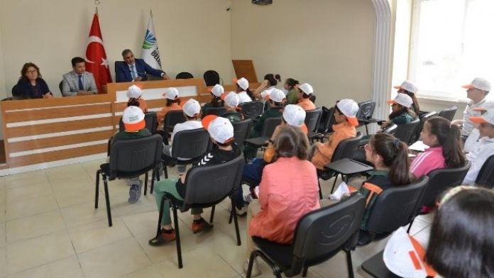 Öğrencilerden, Yeşilyurt Belediyesine Ziyaret