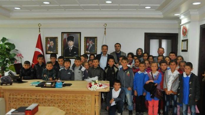 Öğrenciler Dersi Başkan Akkaya İle İşledi