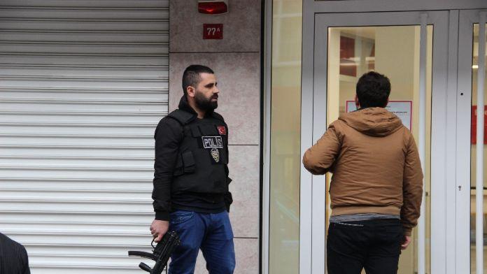 Beyoğlu'nda banka soygunu