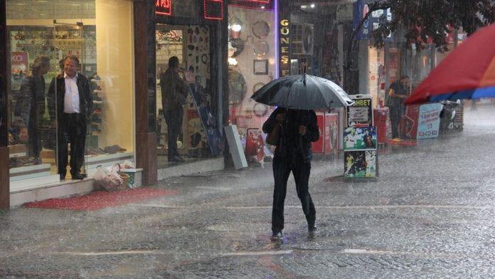 Edirne'ye rekor yağış düştü