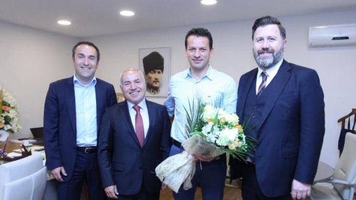Trabzonspor'dan hakem Volkan Bayarslan'a ziyaret
