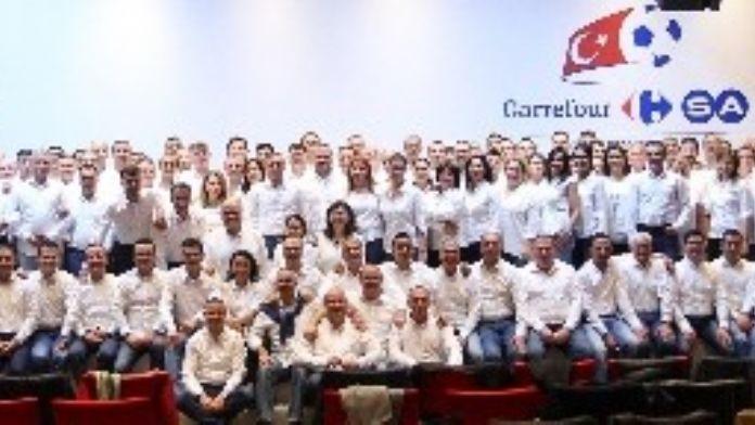 Carrefoursa Yıllık Paylaşım Toplantısı TFF'nin Riva Tesisleri'nde Yapıldı