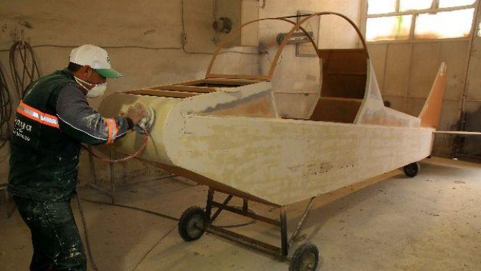 Vecihi Hürkuş Hobi Havacılık Parkı Açılışa Hazırlanıyor