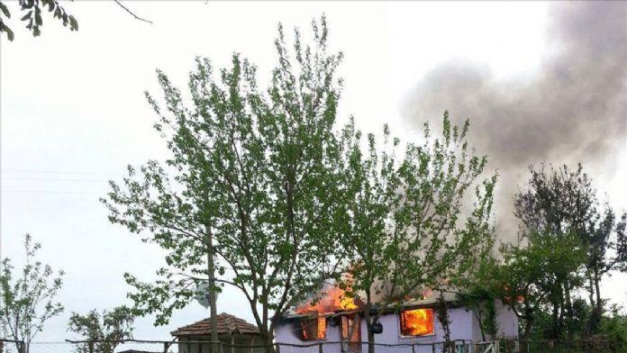Ordu'da ev yangını 27 Nisan 2016 Çarşamba