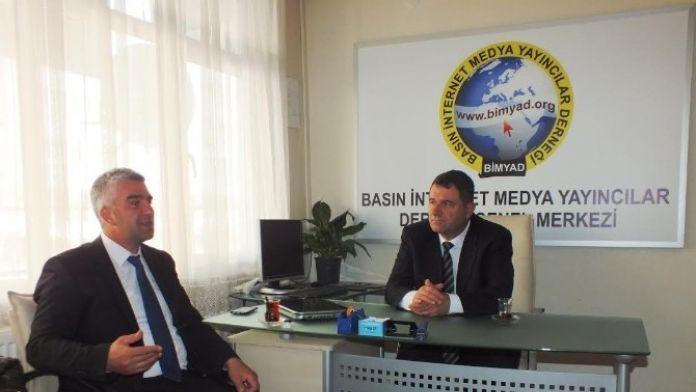 Genel Sekreter Pektaş, Bimyad'ı Ziyaret Etti