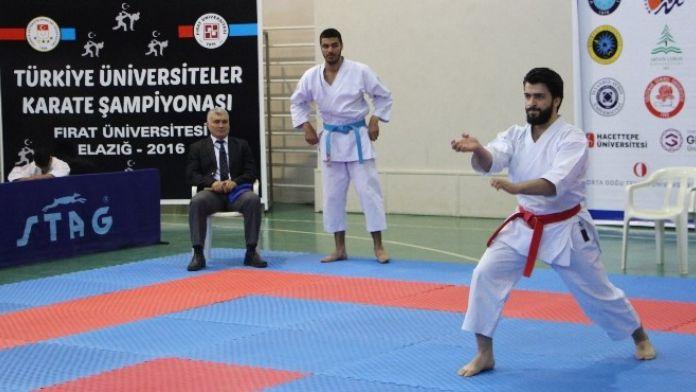 Türkiye Karate Şampiyonası FÜ'de Başladı