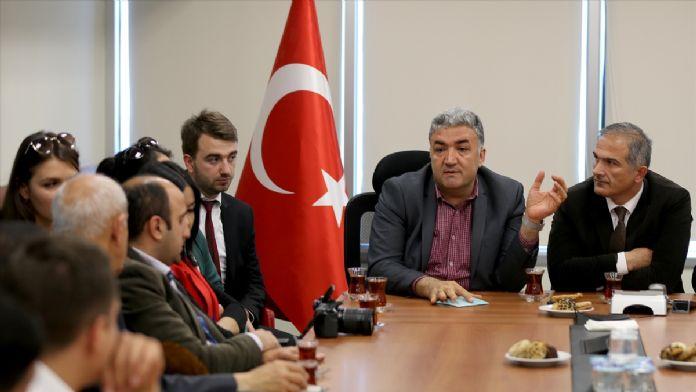 Türk dünyasından AA'ya ziyaret