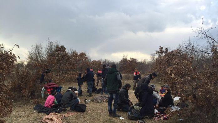 Edirne'de 23 kaçak göçmen yakalandı