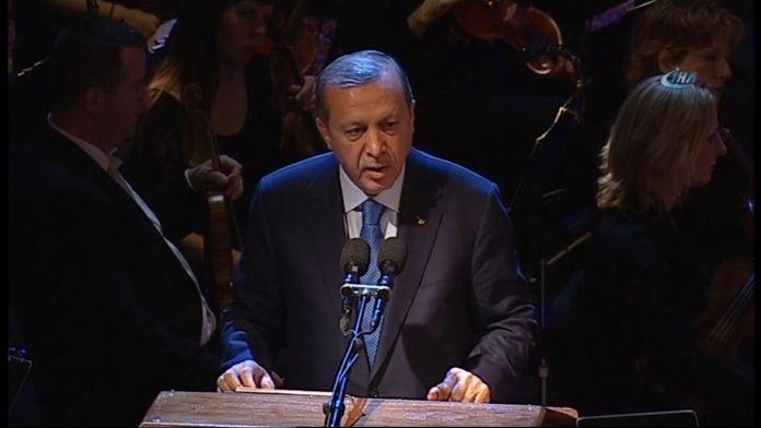 Erdoğan Hırvatistan'da konuştu