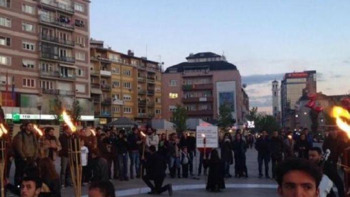 Bin 781 kayıp Kosovalı anıldı
