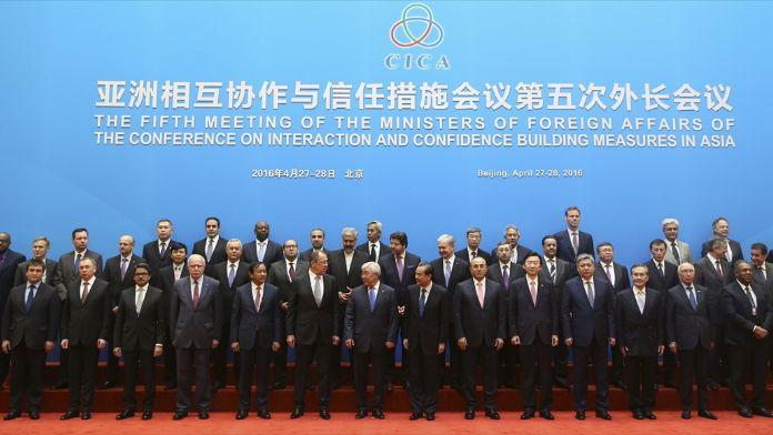 Asya'da İşbirliği ve Güven Artırıcı Önlemler Konferansı