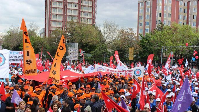 Ankara'da 1 Mayıs kutlamalarının adresi belli oldu