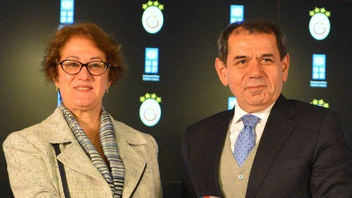 Yoksulluğa karşı Galatasaray UNDP ile işbirliği