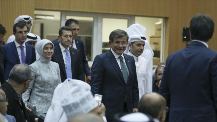 Başbakan Davutoğlu Katar'da 28 Nisan 2016 Perşembe