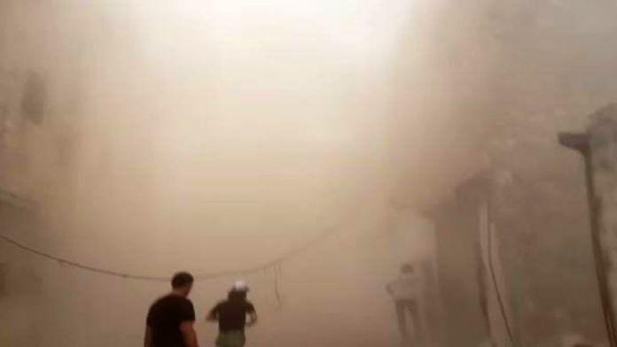 Halep'te katliam var !