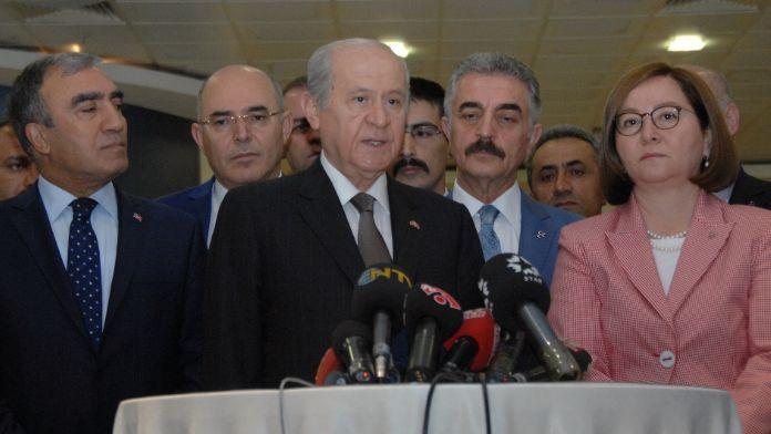 Komisyondaki kavgaya tepki gösterdi