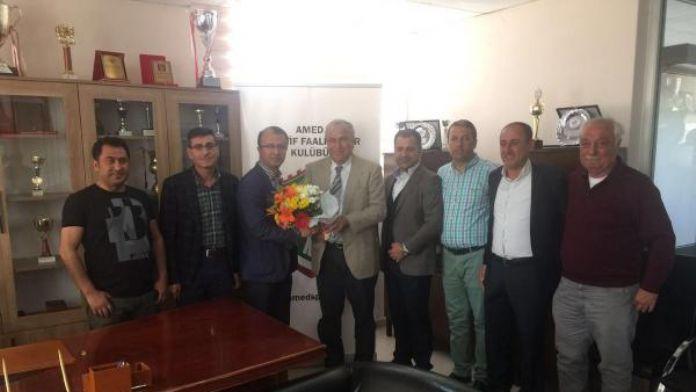 Aydınspor 1923'den Amed Sportif'e 'geçmiş olsun' ziyareti