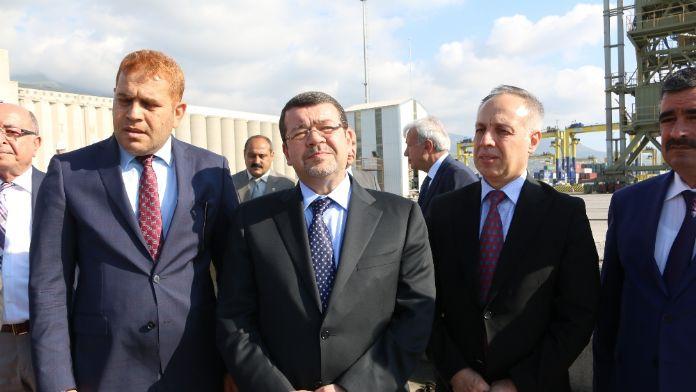 Ürdün Ulaştırma Bakanı İskenderun'da