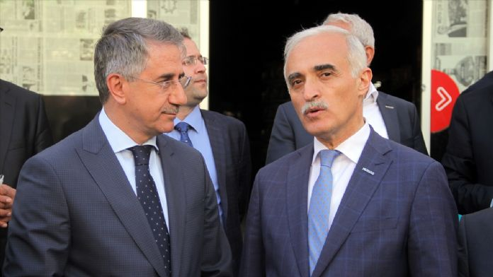 MÜSİAD Genel Başkanı Hizmet Binasının Açılışını Yaptı