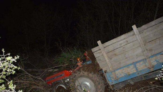 Sivas'taki kazada traktör sürücüsü öldü