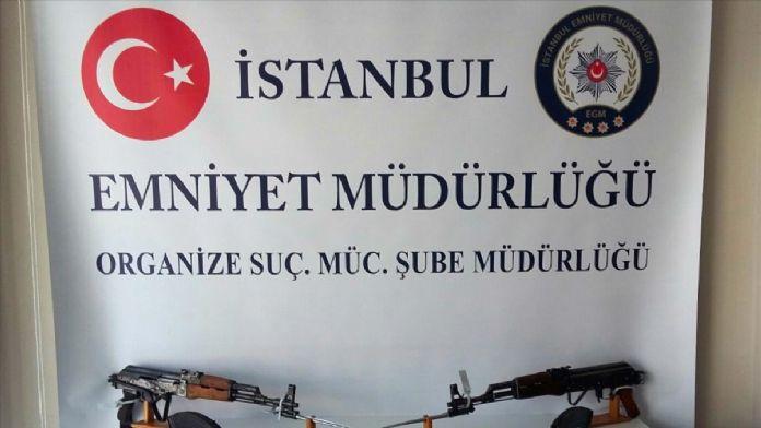İstanbul'da silah kaçakçılığına yönelik operasyon