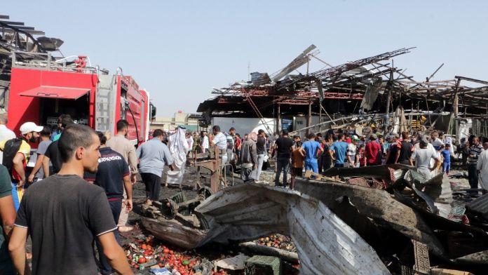 Bağdat'ta bilanço artıyor
