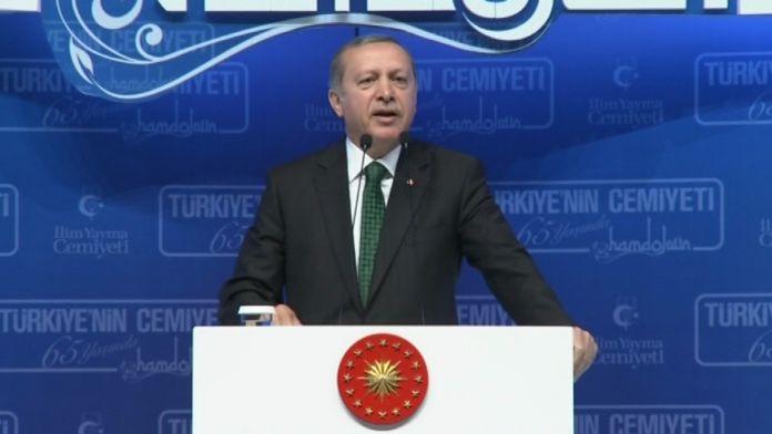 Erdoğan: Bu zaferi inkar edemeyecekler