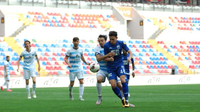 Kayseri Erciesspor 2- 2 Adana Demirspor
