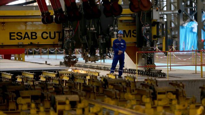 Amfibi hücum gemisi Anadolu'nun inşa başlangıç töreni