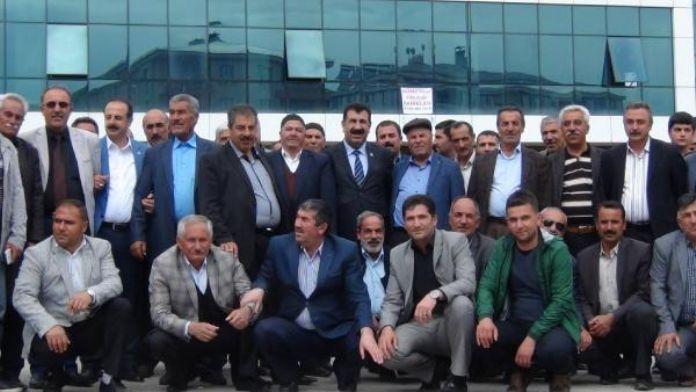TÜDKİYEB Genel Başkanı Çelik Erciş'te