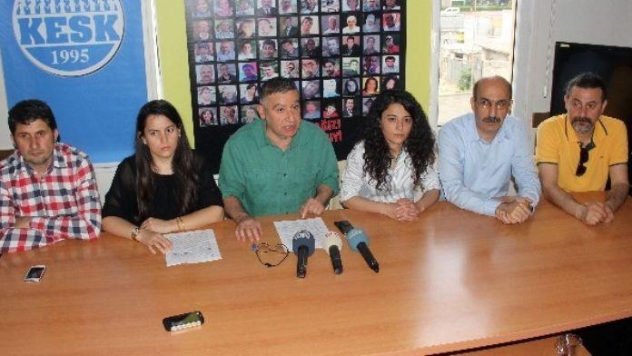 Adana'daki 1 Mayıs Kutlamasına 'Canlı Bomba' Engeli