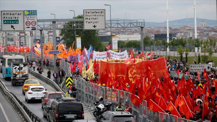 İstanbul'da 1 Mayıs