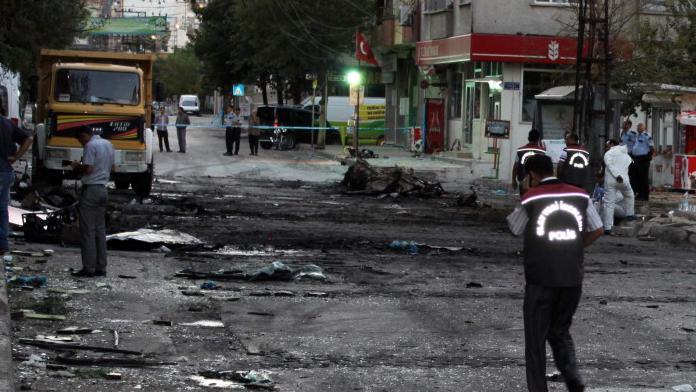 Şehit Polis faciayı önledi