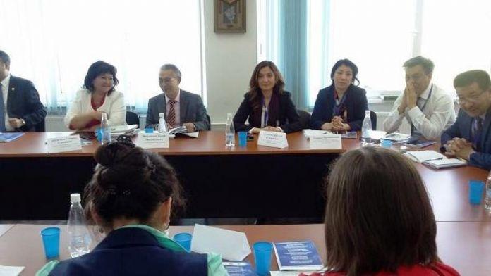 Gazi Üniversitesi Türkiyat Merkezi Heyeti, Almatı'da 'Yusuf HAS Hacip'' Konferansı'na Katıldı