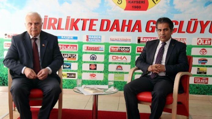 Kayseri Kültür Ve Turizm Derneği Yönetim Kurulu Başkanı Alim Gerçel: