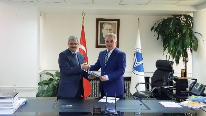 Al Albayt Üniversitesinden Rektör Elmas'a Ziyaret