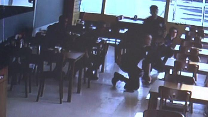 Polis grubu saldırı sırasında lokantadaydı