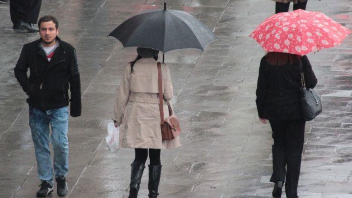 Dikkat: Serin ve yağışlı hava geliyor !