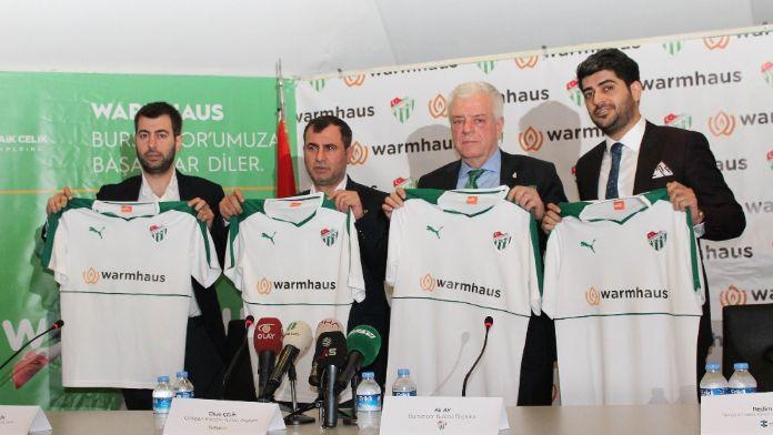 Bursaspor Warmhaus ile anlaştı