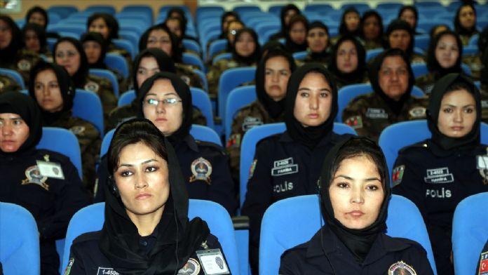 Afgan kadın polis adaylarına Sivas'ta eğitim