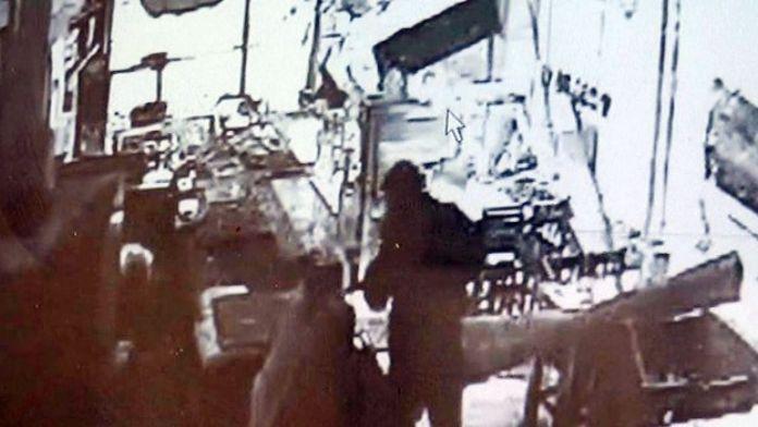 Gaziantep'teki Patlama Anında Yaşananlar, Çevredeki Güvenlik Kamerasına Yansıdı