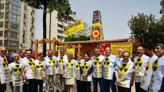 Mersin'de Çernobil Anısına Çocuklar İçin Anıt Dikildi