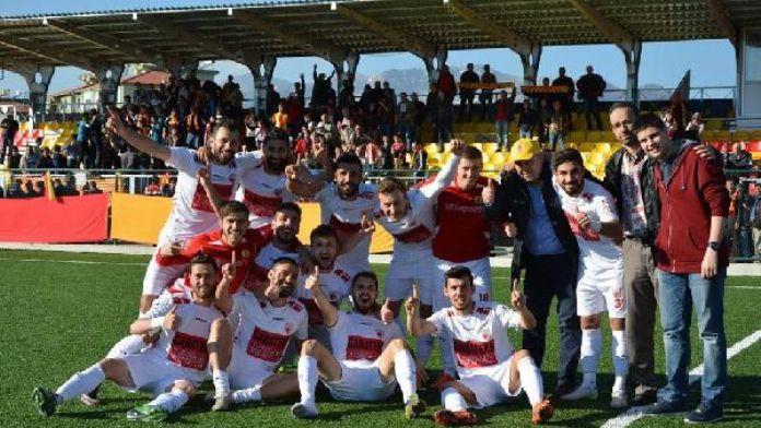 Kızılcabölükspor'un play off'ta tur hesabı